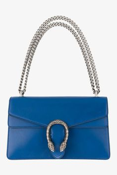 Gucci's ladylike box bag is an accessible way of tapping into the brand's eclectic aesthetic without having to embrace maximalism. Juxatapose its adult appeal and wear with jeans and a band T-shirt. Dionysus shoulder bag, £1,470, Gucci at Browns