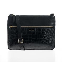 Farah is a neat and chic 'grab-and-go' style changing bag - perfect for short trips from Jem and Bea. This versatile style in black can be worn across the body. Baby Changing Bags, Changing Mat, Small Crossbody Bag, Leather Crossbody, Kids Boutique, Large Handbags, Short Trip, Travel Size Products, Sale Items