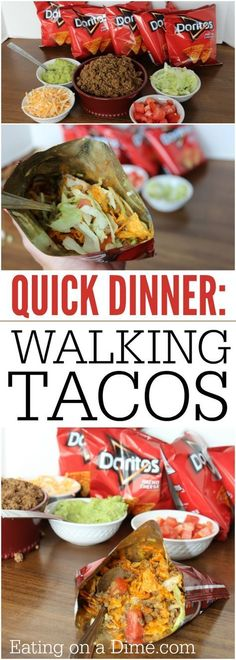 Tacos in a bag? Yes, you are going to love this walking tacos recipe. It is easy to make and the entire family loves this easy Mexican recipe.