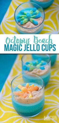 Octopus Beach Magic Jello Cups
