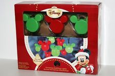 DISNEY MICKEY MOUSE DANCING CHRISTMAS LIGHTS; 8 FEET LONG WITH 8 LIGHTS