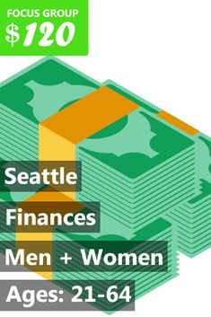 Fieldwork Seattle is looking for people 21-64 to participate in paid research on Finances! The one-on-one interviews will take place at an offsite location in downtown Seattle on Tuesday, February 20th, Wednesday, February 21st or Thursday, February 22nd. The sessions will last 1 hour, and you will receive a $120 Electronic Visa Card for your time and opinions. If you are interested in participating, please sign up and take the survey to see if you qualify! If your answers fit with what our…