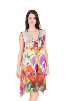 Önden bağlamalı elbise pareomuz ile plajda rahatlığınız garanti.  http://www.dagistore.com/urun/dagi-ak3522-onden-baglamali-elbise-pareo_2904.aspx?CatId=1413