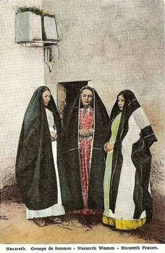 Nazareth women , Palestine. This is What Israel is trying to hide. Palestine in ancient times.