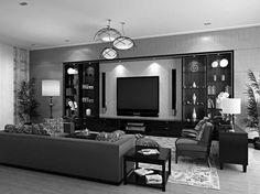 Master Bedroom Ideas Black Furniture In The Luxury Black Furniture Room  Ideas At Beauty Residence Black Living Room Furniture Throughout Black  Living Room ...