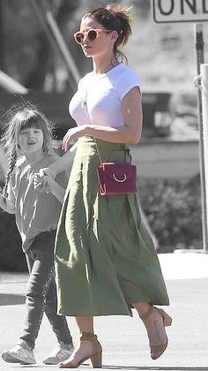 Jenna Dewan in Los Angeles, California on Sunday Jenna Dewan, Off Duty, Every Girl, Fasion, Color Splash, Sunnies, Outfit Ideas, Sunday, Cute Outfits