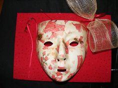 Masque décoratif fait main, pièce unique : Accessoires de maison par sandyane