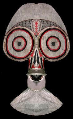 Baining Fire Dance Mask, East New Britain, Papua New Guinea www.papuanewguinea.travel/eastnewbritain