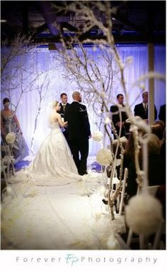 Image Detail for - Winter Wedding Ceremony Decorations »