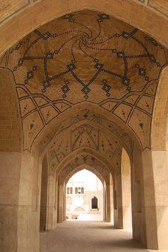 agha bozorg mosque / kashan - Iran