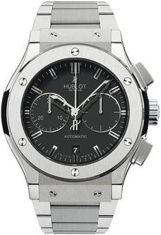 Hublot Classic Fusion Mat Black Mens Watch 521.NX.1170.NX.  $9825.00  #HublotWatches #LuxuryWatches