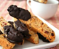 Cranberry Pecan Biscotti (Low Carb and Gluten Free) | All Day I Dream About Food