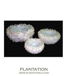 Gemstone Bowls | Clear Quartz $475 - $2875