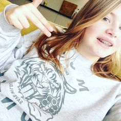 Beastly good shot Kate! Thnx! 😻#mosthunted #teenage #powergirl #tiger #sweater #shootback #savewildlife #wearatownrisk #endextinction #wear #beastly #good #streetwear #streetstyle #teenstyle #dressforsuccess #dosomething mosthunted.com #jointhepack #roarrr
