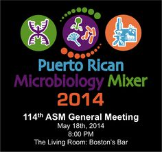 2014 Puerto Rican Microbiology Mixer at ASM