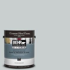 #720E 2 Light French Gray Satin Enamel Exterior Paint