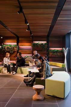 Would tiered seating work in this space? Creates a natural performance space. @ University of Melbourne