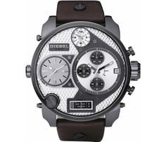 Diesel DZ7126 Mr Daddy Brown Leather Strap men's watch