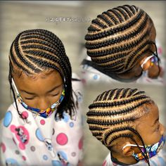Little Girl Braid Styles, Little Girl Braid Hairstyles, Toddler Braided Hairstyles, Black Kids Hairstyles, Kid Braid Styles, Little Girl Braids, Baby Girl Hairstyles, Natural Hairstyles For Kids, Braids For Kids