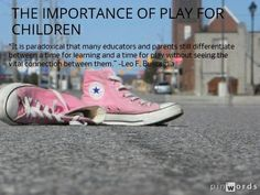 The Importance of Play for Children.  Play Based Learning