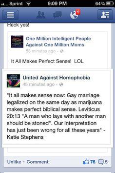 http://lgbt.mynewsportal.net - LGBT #LGBT <3 love this.  HELL YES. ;D