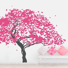A gorgeous tree to add to your home's decor. |Japanese Maple Tree Wall Decal