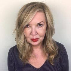 Dirty Blonde Lob With Side Bangs - Lange Haare Hair Styles For Women Over 50, Hair Color For Women, Short Hair Styles, Short Hairstyles Over 50, Short Hairstyles For Women, Cool Hairstyles, Long Hair Older Women, Haircut For Older Women, Straight Lobs