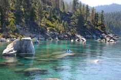 29 Surreal Places In America You Need To Visit Before You Die- Lake Tahoe CA