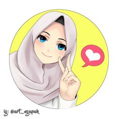 """ Never forget how much Allah loves you. "" ""Nunca esqueça o quanto Deus te ama. Anime Art Girl, Manga Girl, Girl Cartoon, Cartoon Art, Hijab Drawing, Wallpaper Hp, Islamic Cartoon, Hijab Cartoon, Islamic Girl"