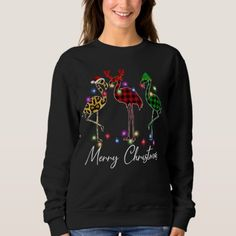 Flamingo Santa Hat Reindeer Buffalo Flamingo Chris Sweatshirt xmas party ideas, xmas outdoor, xmas swags #christmastime #christmasparty #christmaseve, christmas decorations, thanksgiving games for family fun, diy christmas decorations Christmas Gifts For Her, Diy Christmas, Christmas Decorations, Homemade Fathers Day Gifts, Gifts For Father, Godzilla Birthday, Firefighter Birthday, Father And Baby, Thanksgiving Games