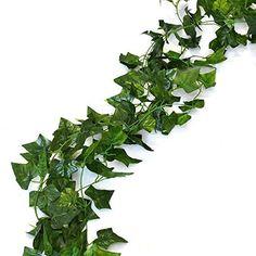 156 feet Fake Foliage Garland Leaves Decoration Artificial Greenery Ivy Vine…