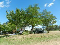 Emplacement de camping avec vue