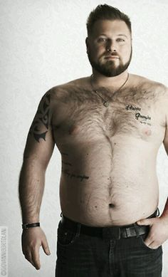 Big men can be sexy. Yes they are, lets not forget to show the guys some love also.