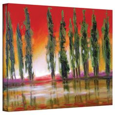 @Overstock.com.com - Artist: Susi Franco Title: Tuscan Cypress Sunset Product type: Gallery-wrapped canvashttp://www.overstock.com/Home-Garden/Susi-Franco-Tuscan-Cypress-Sunset-Gallery-Wrapped-Canvas/7957609/product.html?CID=214117 $50.99