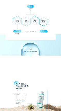 미샤 > 아쿠아 펩타이드 커스터마이징 Cosmetic Web, Cosmetic Design, Graph Design, Chart Design, Editorial Layout, Editorial Design, Page Design, Layout Design, Mobile Web Design