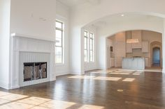 Look at this fire place. Can't you see yourself entertaining in this great room?