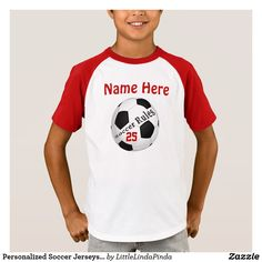 Personalized Soccer Jerseys for Kids