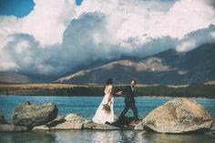 A Lake Tekapo Woolshed Wedding by Rachel Wybrow Photography