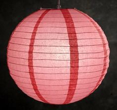 Guava(coral) colored lanterns for wedding. Get some grey ones and i'll be happy