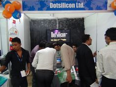 Dotsilicon @ Digital World 2012.  BICC, Dhaka, Bangladesh. December 7, 2012.
