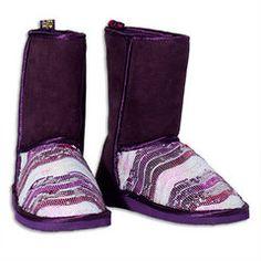 Night Sequin Boots #giftsforher #littlemissmatched