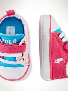 2d25d03848 Baby Girl Carson EZ Sneaker - Baby Girl Shoes - Ralph Lauren UK