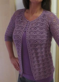 14 Crochet cardigan pattern by Hitomi Shida (志田 ひとみ) Crochet Poncho With Sleeves, Crochet Bolero Pattern, Crochet Cardigan Pattern, Crochet Jacket, Crochet Woman, Crochet Top, Crochet Clothes, Knitting, Crochet Coat