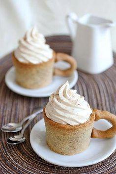 Edible Cappuccino Cups