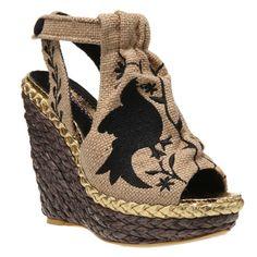 IRREGULAR CHOICE Kupcake in Natural Womens Shoes  Various Sizes New