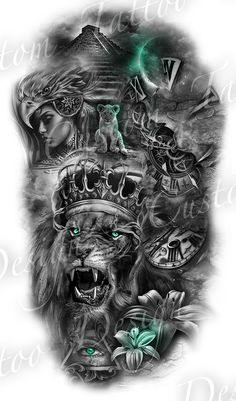 full sleeve design full sleeve design sleeve tattoo designs Do you have an amazing design idea or maybe an existing tattoo that you hate and really want covered Lion Head Tattoos, Forearm Sleeve Tattoos, Best Sleeve Tattoos, Skull Tattoos, Mens Lion Tattoo, Shoulder Tattoos, Tribal Tattoos, Hand Tattoos, Aztec Tattoo Designs