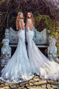 galia lahav bridal spring 2017 sheath mermaid trumpet sweetheart wedding dresses (samantha avena) bv low back train