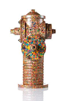 Sculptures Made of Old Recycled Skateboards By Haroshi 3