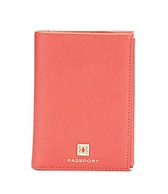 Kate Landry FauxSaffiano Passport Wallet #Dillards