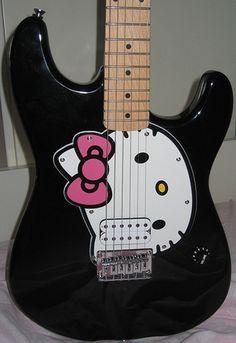 Guitar...hello kitty